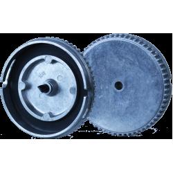 Aluminum lid  ( ABAC PN1A, ABAC PN2A or ABAC PN5A)